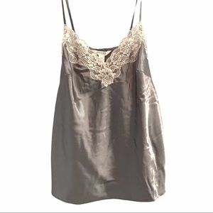 Cacique True to You silver camisole size 18/20
